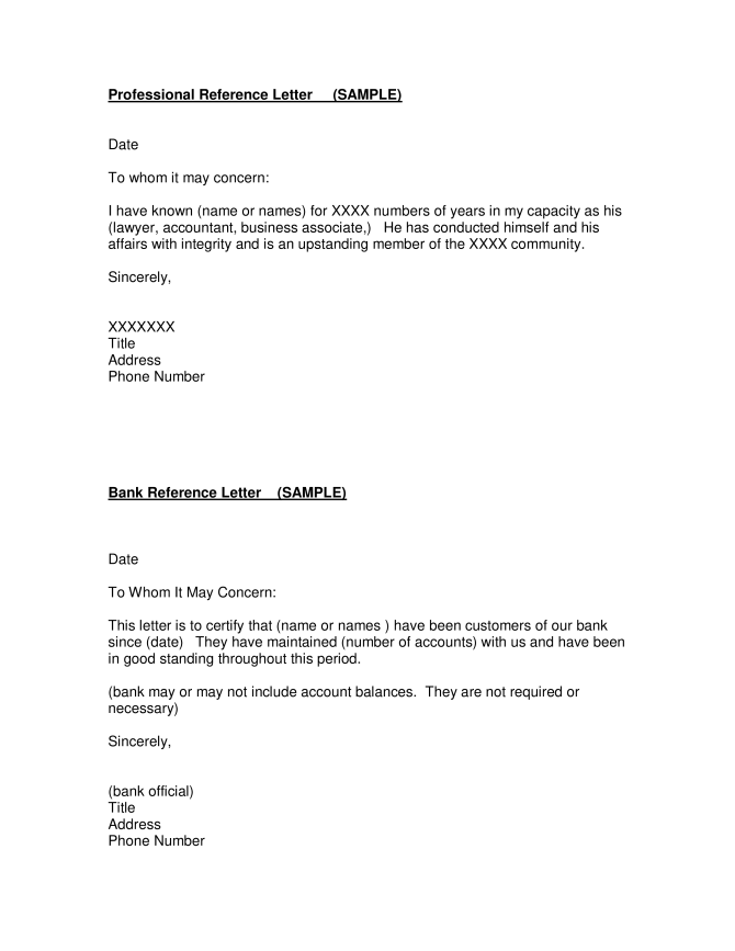 Accountant Assistant Reference Letter