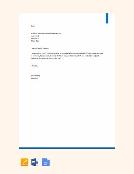 Acknowledgment Letter Examples  Templates In Word  Pages