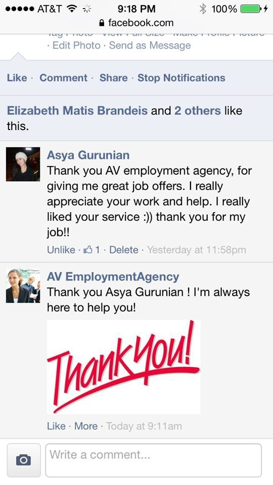 Av Employment Agency
