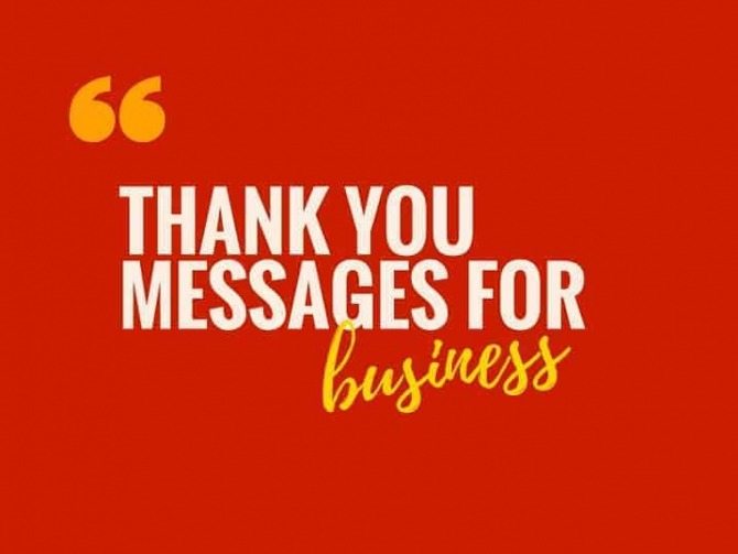 Brilliant Thank You Messages   Quotes For Customers