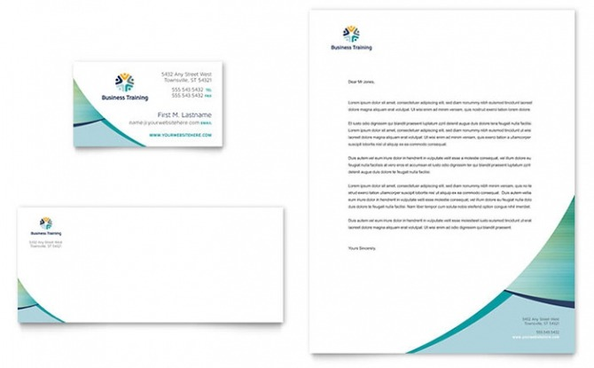 Education   Training Letterhead Templates   Design Examples