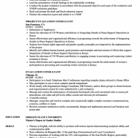 Academic Evaluator Cover Letter