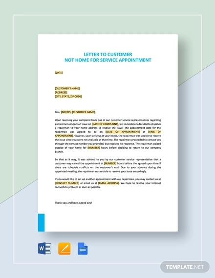 Free  Appointment Letter Examples   Samples In Pdf