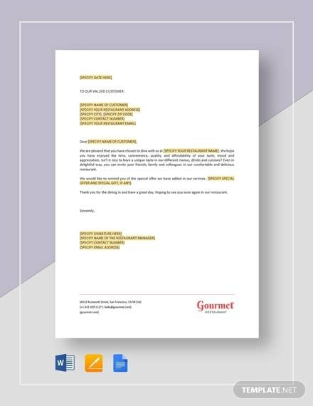 Free  Sample Order Letter Templates In Pdf