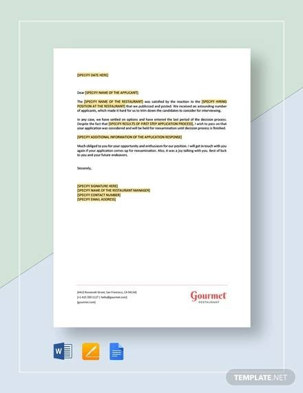 Free  Sample Response Letter Templates In Pdf