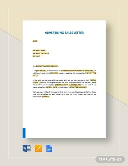 Free  Writing A Sales Letters  Tips   Examples