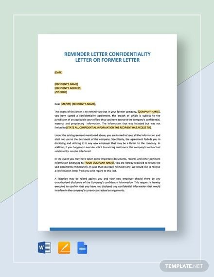 Free Rebuttal Letter Template