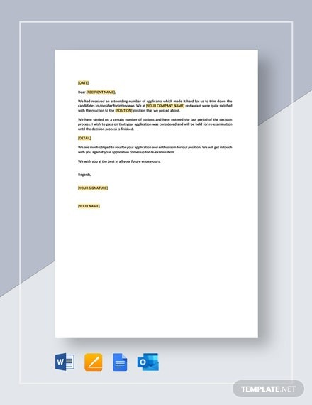 Free Response Letter To A Complaint Template