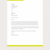 Application Letter For A Primary School Teaching Job