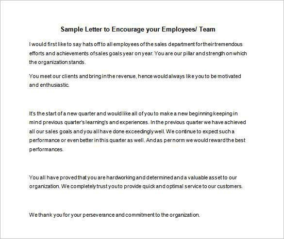 Free Sample Of Motivational Email To Sales Team With Example