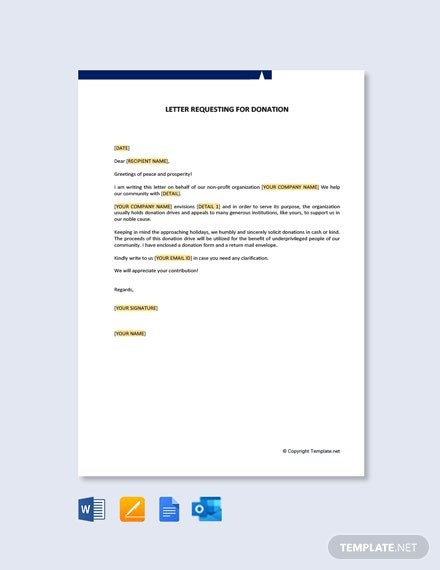 Free Solicitation Letter Template