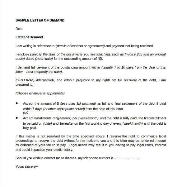 Government Letter Formats