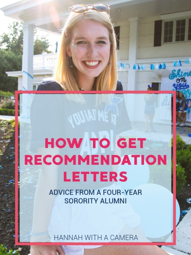 How To Get Recommendation Letters