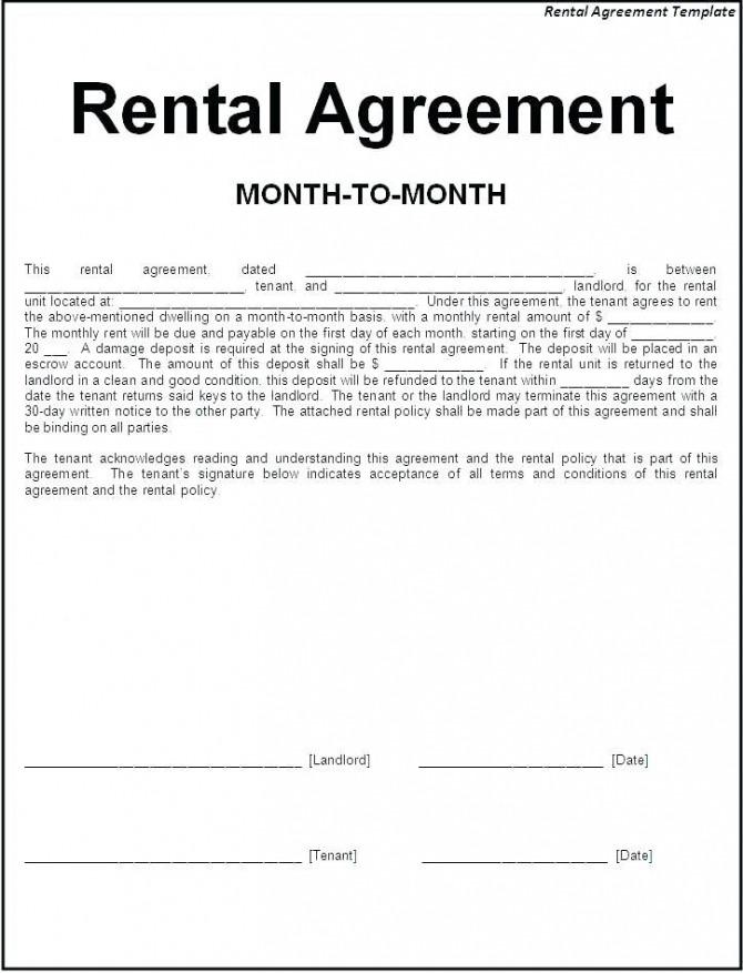 Image Result For Sample Letter Of Tenant Agreement