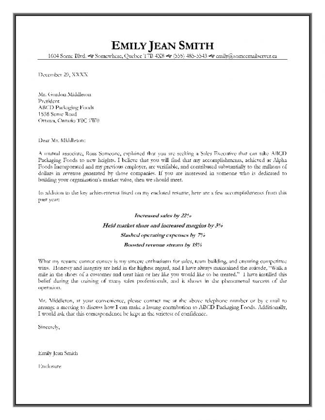 Job Offer Letter Format For Sales Executive Executive Job Offer