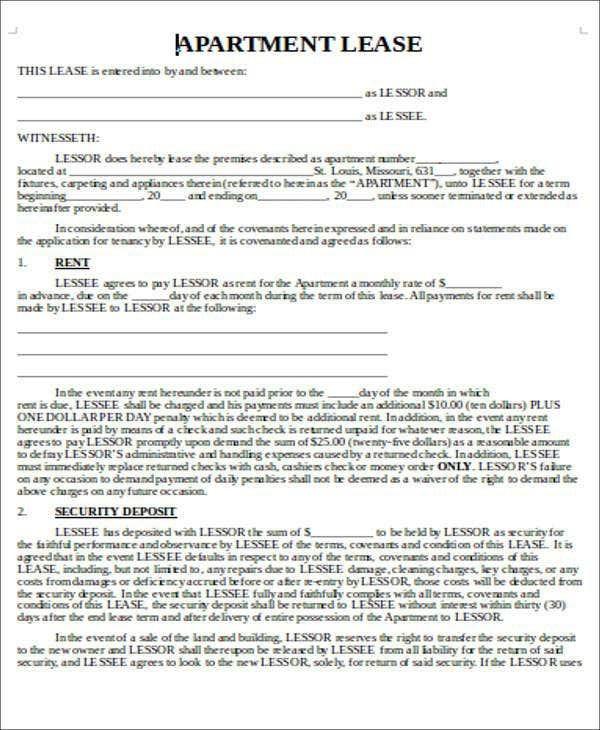 Lease Transfer Letter Template