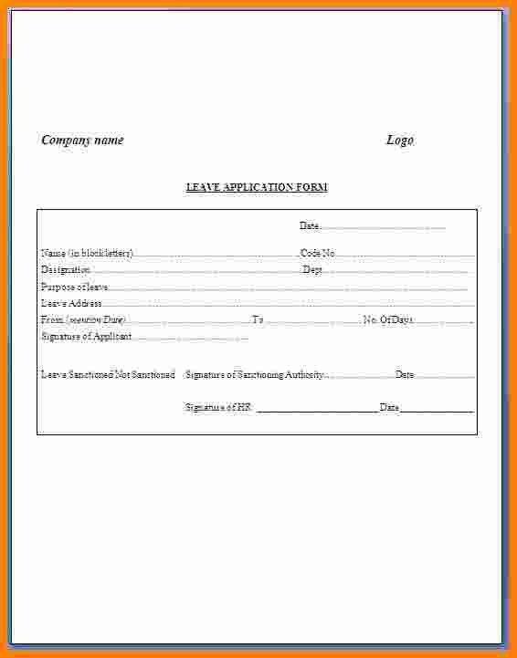 Leave Letter From Office Ledger Paper Ledger Paper Sampleresume