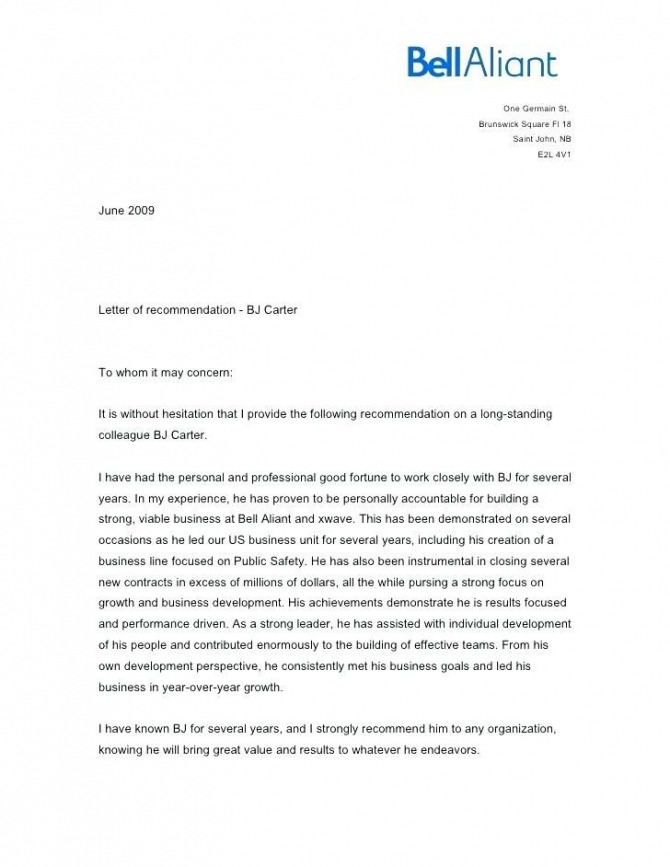 Letter Of Recommendation For Coworker Former Coworker