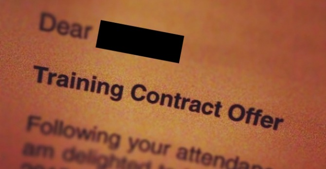Linklaters Redesigns Training Contract Offer Letter In Bid To Gain