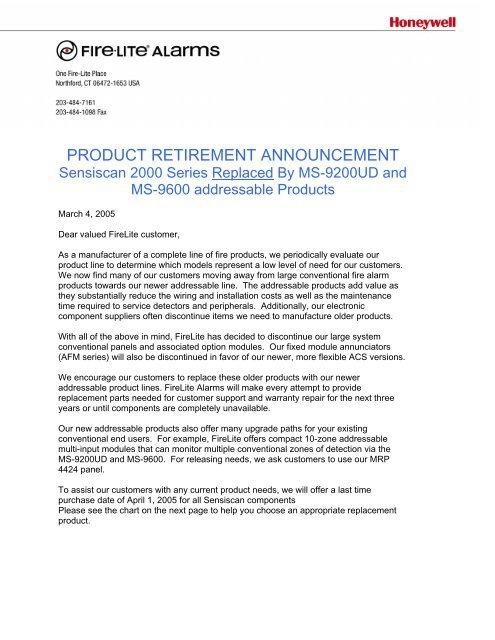 Product Retirement Announcement