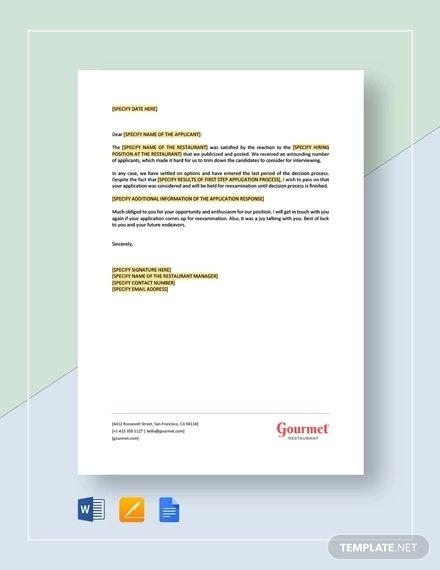 Response Letter Templates
