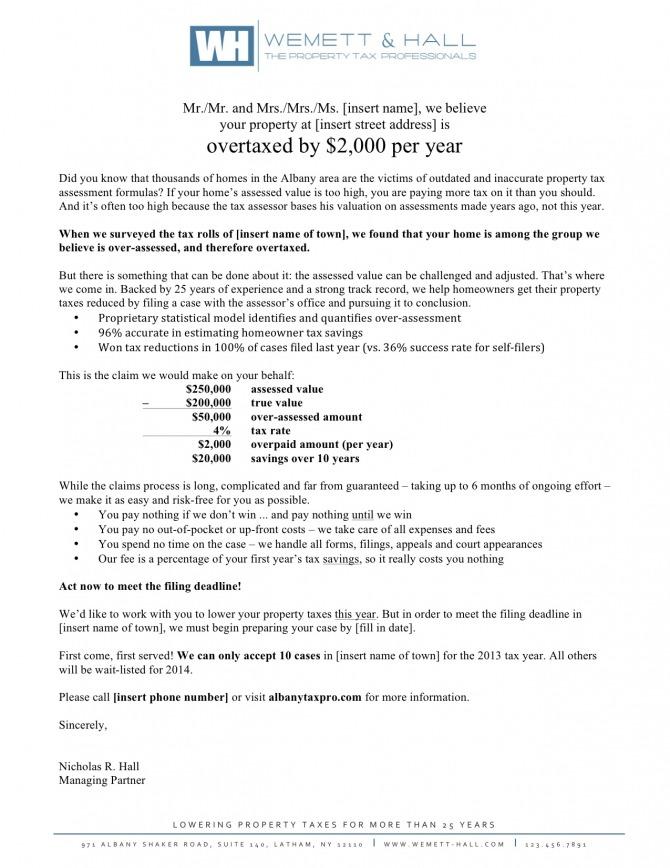 Sales Letter Bc Services