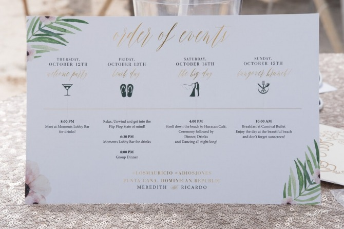 Sending The Perfect Destination Wedding Welcome Letter  Travelbash
