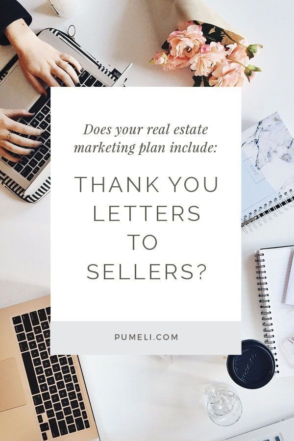 Thank You Letter Examples For Real Estate Marketing