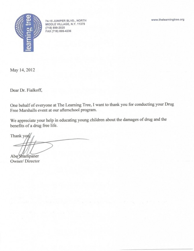 Thank You Letter To Doctor From Patient Family