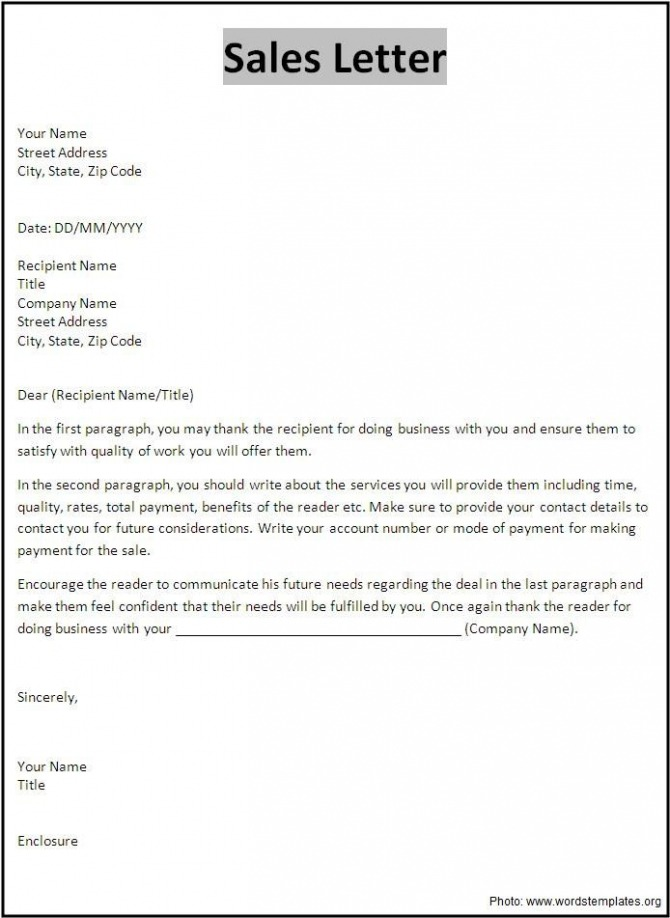 Top Ten Objectives Of A Sales Letter