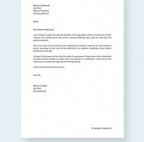 Training Proposal Letter