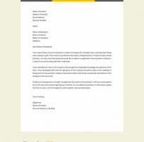 Lease Transfer Request Letter