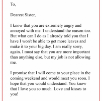 Personal Apology Letter To Boss