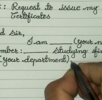 Request Letter To Principal For Original Certificates