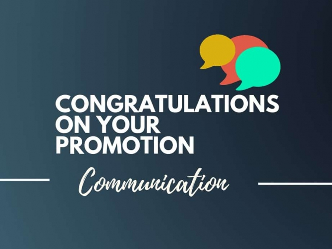 Best Congratulations Quotes On Promotion
