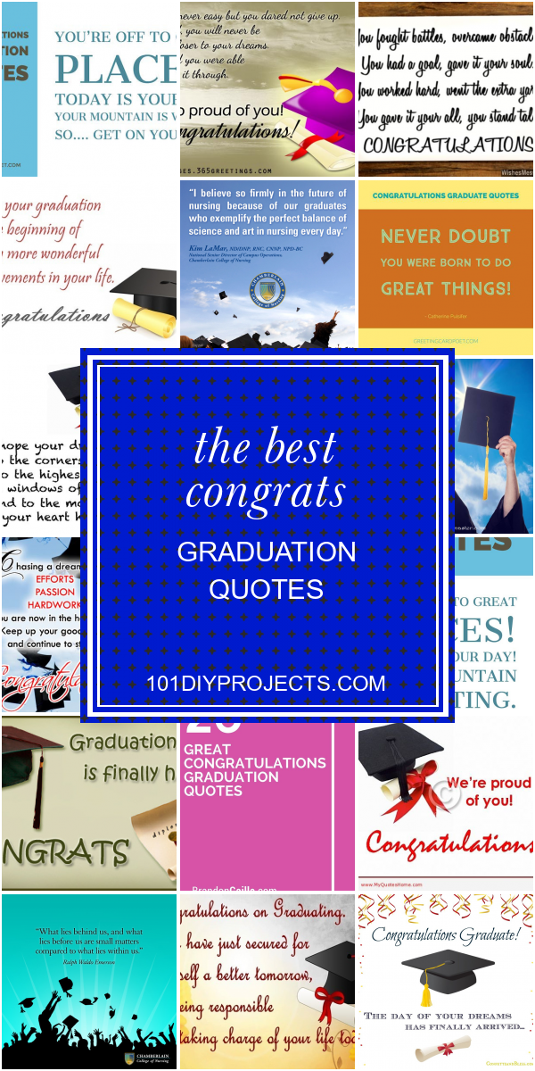 Collection Of Articles About The Best Congrats Graduation Quotes
