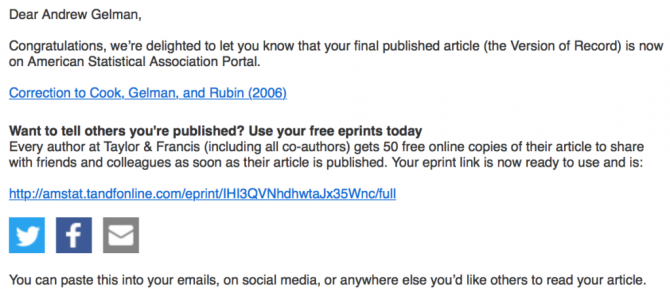 Congratulations  Your Article Is Published Ummm