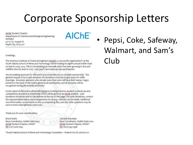 Corporate Fundraising And Sponsorship