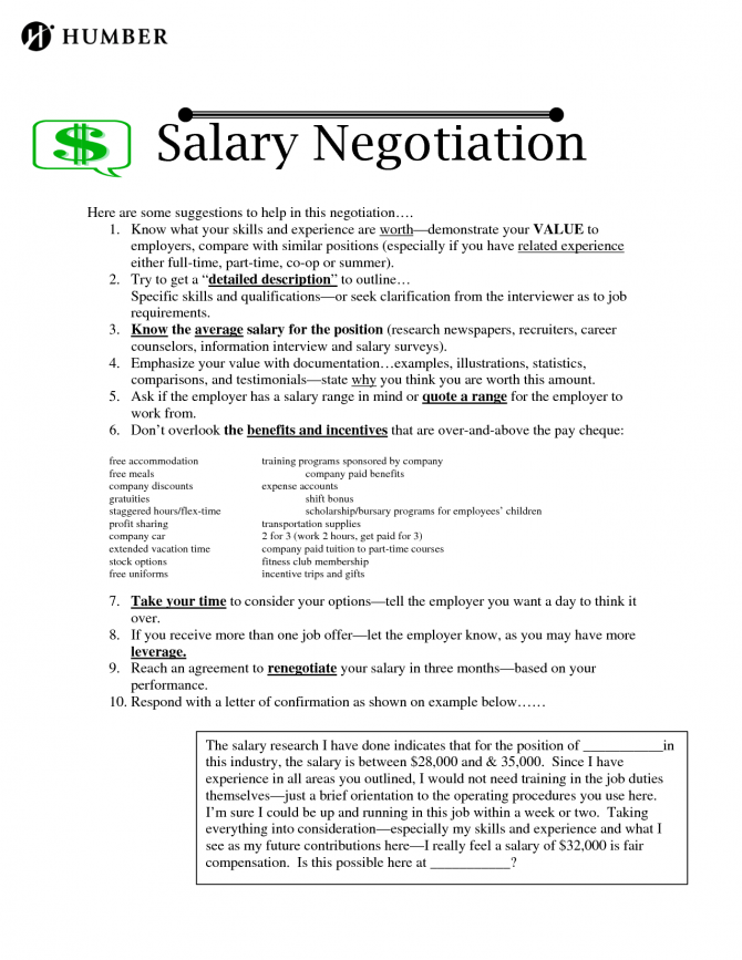 Counter Offer Letter Sample Best Business Template Salary