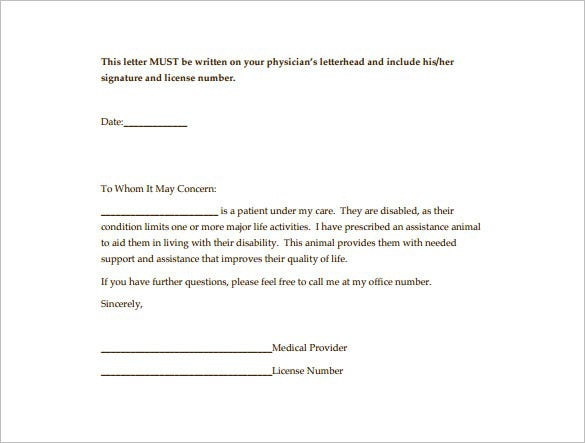 Doctor Letter Templates