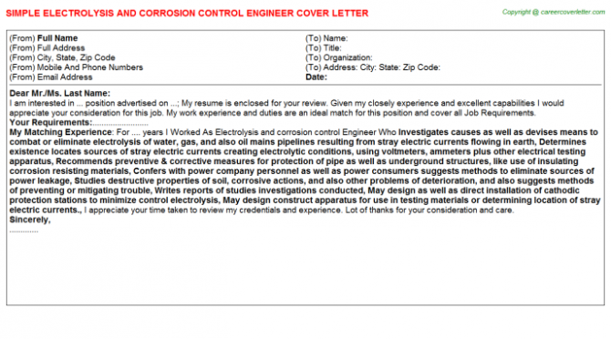 Environmental Health Safety Engineer Job Cover Letters Examples