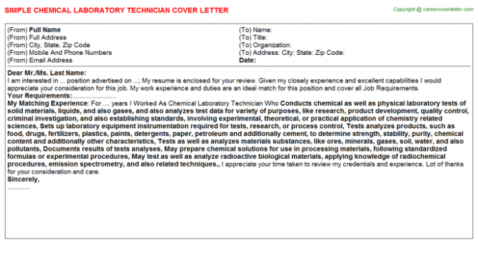 Environmental Health Technician Job Templates