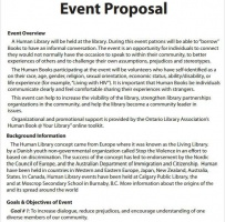 School Event Proposal Letter