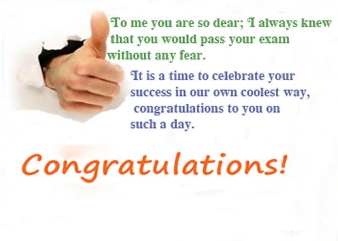 Exam Congratulations Passing Exam Quotes