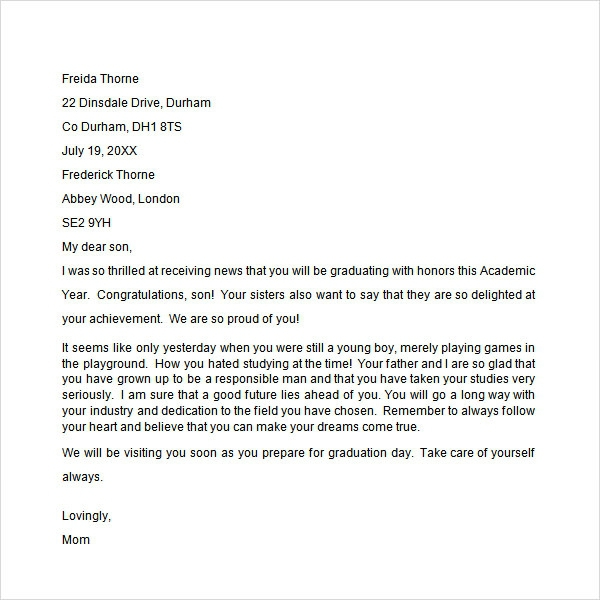 Free  Congratulation Letter Templates In Ms Word