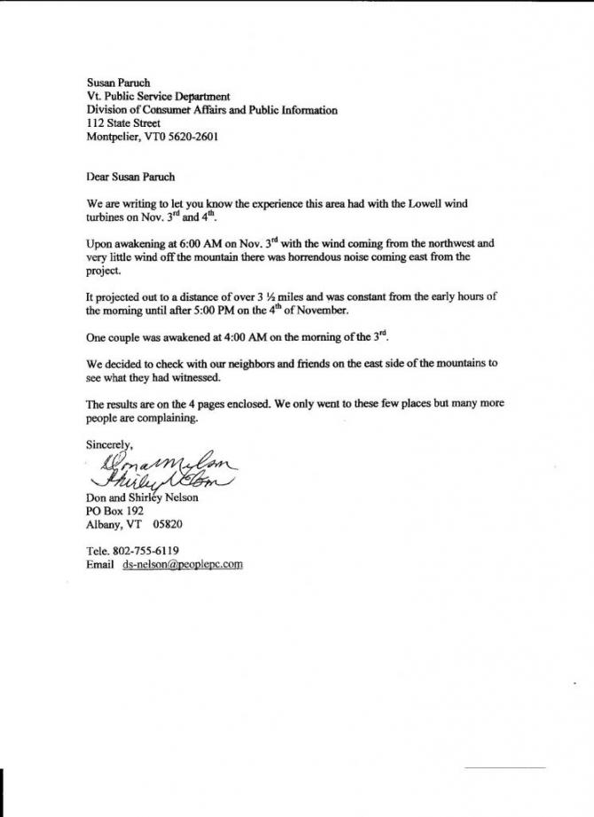 Free  Noise Complaint Letter Sample Templates