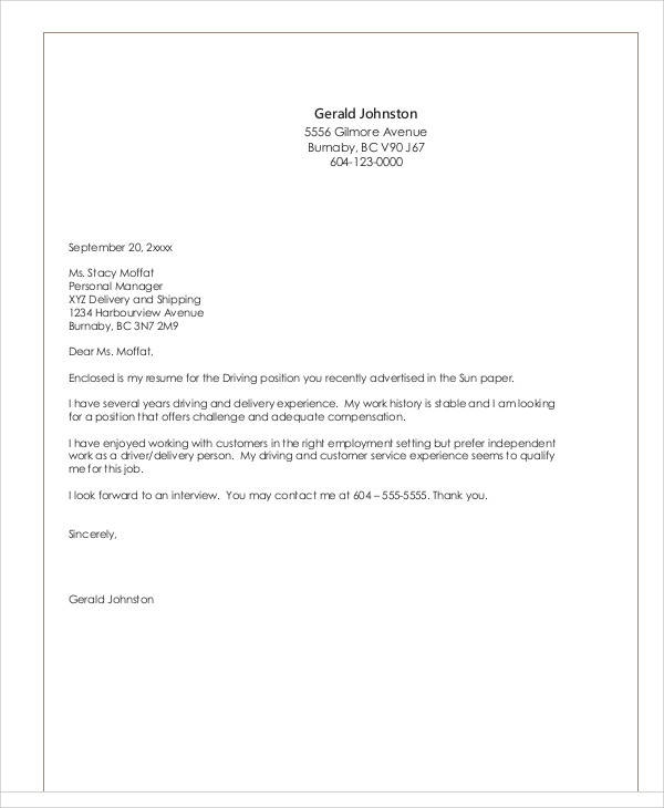 Free  Sample Employment Letter Templates In Pdf