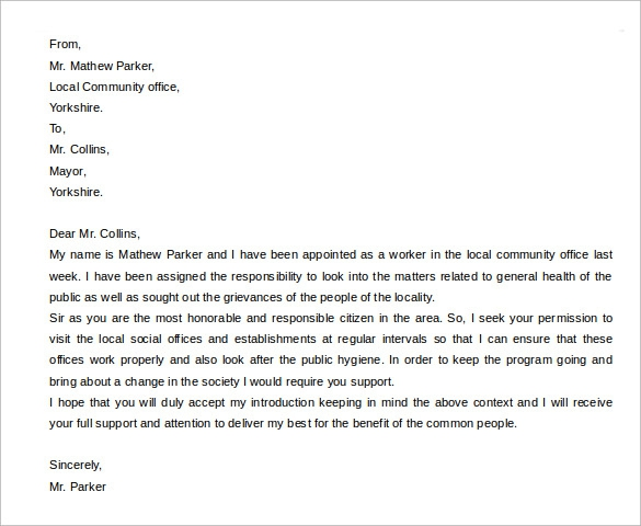 Free  Sample Personal Letter Templates In Pdf