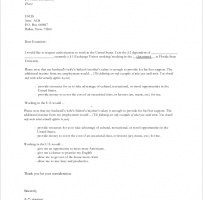 Request Letter For Work Permission