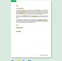 Complaint Letter To Landlord About Parking